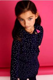 001 Mim-Pi 82 jurk blauw met sterren