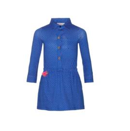 001 Mim-Pi 61 jurk blauw