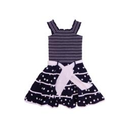 00013 LoFff jurk zaragoza blue Z8318-01
