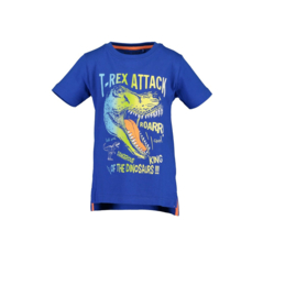 00002 Blue Seven shirt blauw 802185