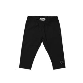 000030 LoFff legging 3/4 donker zwart Z9112-11