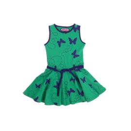 002 Happynr1 dancing jurk -groen- 19-118