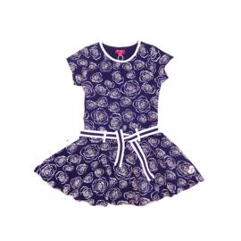 1 LoFff jurk - blauw Z8117-02A