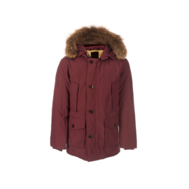 001 Airforce heren parka M0015 RF bordeaux