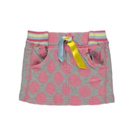 000 Bomba rok grijs-roze k16-004 maat 92-98