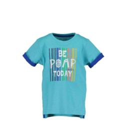 0001 Blue Seven shirt  blauw 802166