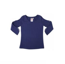 00013 LoFff Studded shirt -Blue- Z7942-02