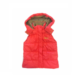001 Far out meiden bodywarmer oranje maat 116-122