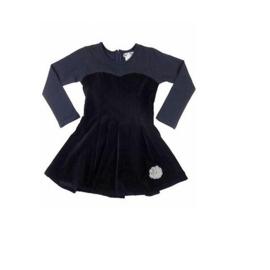 007 LoFff jurk zwart-blauw Z7810-02