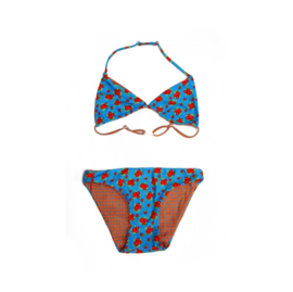 01 ZEE&ZO Bikini Baia Da Sancho Milles Fleurs blue Reversible