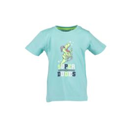 00002 Blue Seven shirt aqua 802189