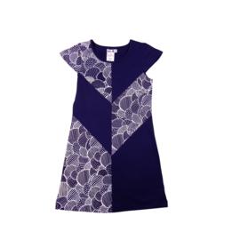 1  LoFff  Victory jurk  blauw Z8114-02A