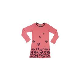 001 LoFff Jurk -Pink/Black- Z8007-01