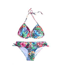 01 Far out bikini jane flower  maat 176 (M)