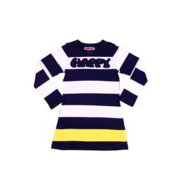0001 Happynr1 Stripes jurk -Multicolor- 19-101