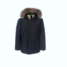 001 Airforce heren parka M0015 552 RF navy blauw