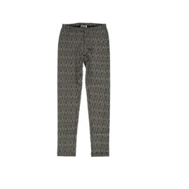 50 LoFff legging zwart/wit Z9113-18