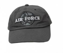 1 Airforce grijze cap maat 2 tot en met maat 8
