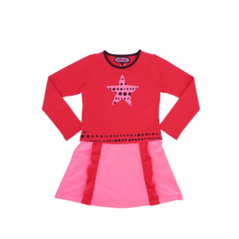 00004 Happynr1 jurk roze 19-231