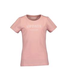 0001 Blue Seven shirt  roze 502650