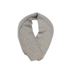 0061 Koeka gebreide sjaal taupe maat 6-11