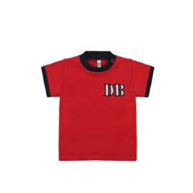 0001  Ducky Beau  shortsleeve rood maat 62