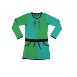 00001 HappyNr1 jurk groen Hp-17-111