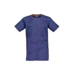0006 Blue Seven shirt blauw  602688