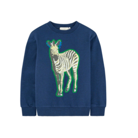 006 Stella MC Cartney sweatshirt  blauw  422221 maat 116