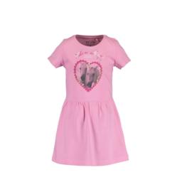 000030 Blue Seven jurk roze 721563