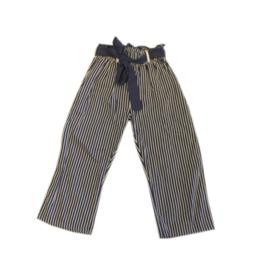 0001 LoFff  Z8232-02 broek blauw Maat 128