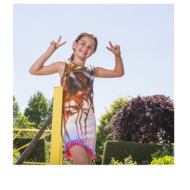 0001 LavaLava jurk multicolor 19-170