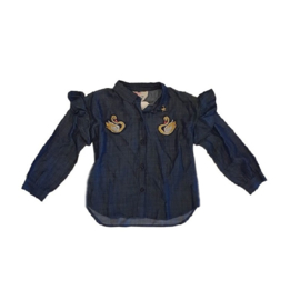 01 Mim Pi jeans blouse maat 116