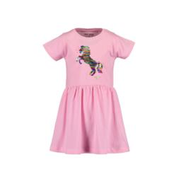 0001 Blue Seven jurk roze 721583