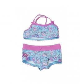 1 Zee en Zo bikini blauw  schiermonnikoog