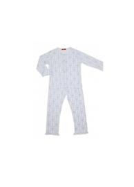 008 Hanssop pyjama lavendel maat 128