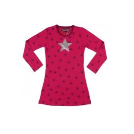 0001 HappyNr1 jurk pink stars Hp-17-120
