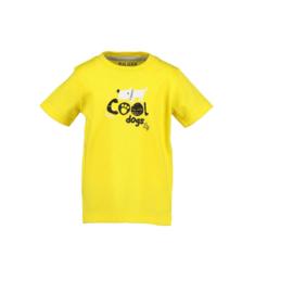 00002 Blue Seven shirt  geel 802192