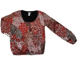 16 LoFff shirt rood sixties  Z7050-03 maat S voordeel