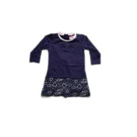 00001 LoFff jurk blauw B8001-03 maat 80