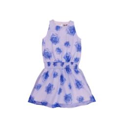 00013 LoFff jurk Jerez blauw  Z8319-02