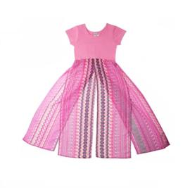 0009 LoFff Top jurk -Pink- Z7916-01
