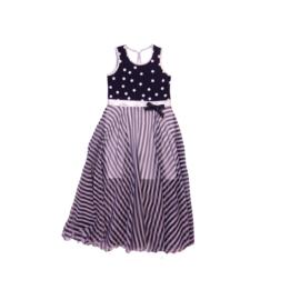 00013 LoFff jurk Barcelona blauw  Z8306-02