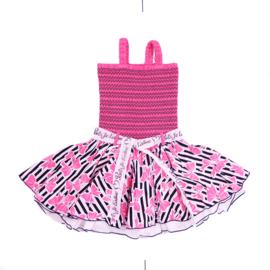 000021 LoFff jurk -roze  Z8122-02