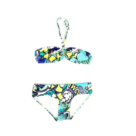 Just Beach bikini Brazilie cartoon blauw