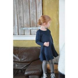 0001 LoFff jurk blauw laceZ7615-01