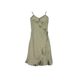 000030 Blue Seven jurk groen 528079