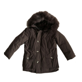 01  Airforce winterjas parka hr72m0075 ttt black coffee maat 128-134