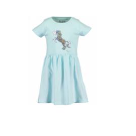 0001 Blue Seven jurk blauw 721583