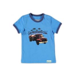 001 Little Feet shirt Sky Blue T03B4 maat 80